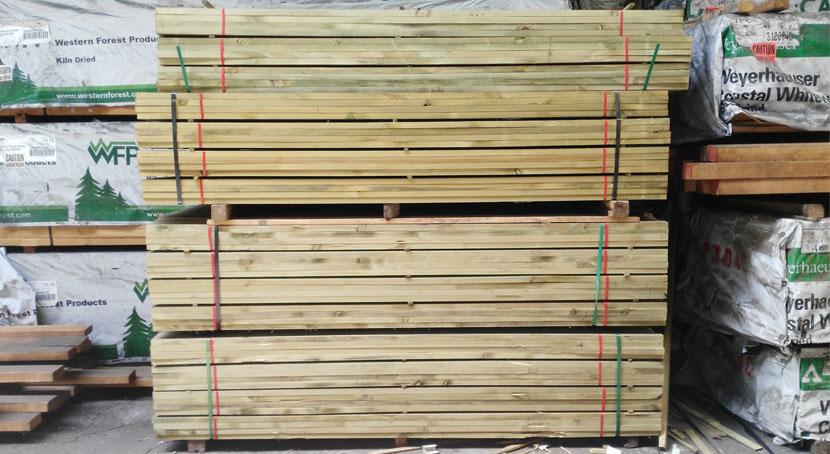 List n de pino tratado al autoclave for Autoclave tratado jardin cobertizo
